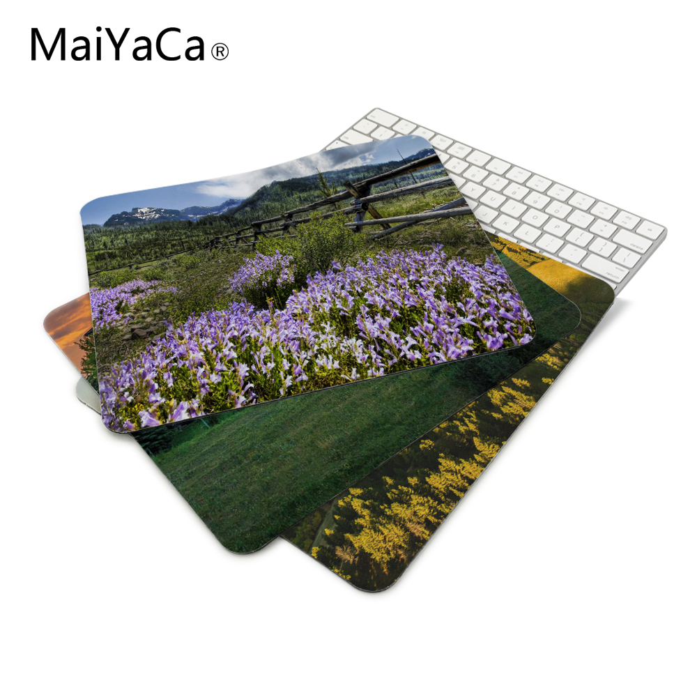 Knowledgeable Ranch In Montana Computer Mousepad Gaming Padmouse Gamer Mat 22*18cm And 25*29cm