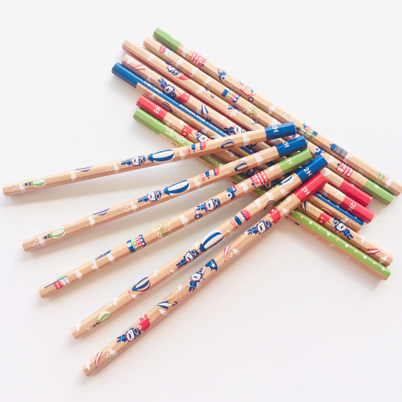 3X Lovely Travel London Soldiers Standard 2H 2B Wooden Pencil Writing Drawing School Supply Student Stationery