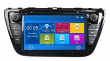 For Suzuki SX4 /S Cross 2014 HD 2 din 8″ Car DVD GPS Navigation Bluetooth IPOD TV Radio/RDS SWC AUX IN USB