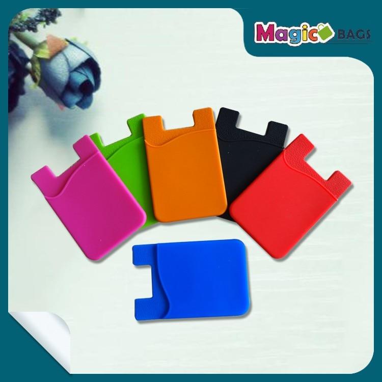 new blank silicone dustproof waterproof name card holder
