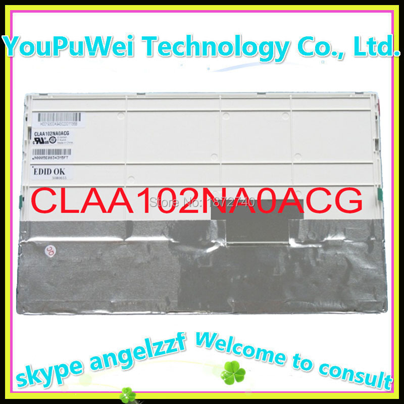 Prix pour 10.2 lcd matrice CLAA102NA0ACW CLAA102NA0ACG CLAA102NA0DCW POUR lenovo S10 netbook remplacement d'affichage