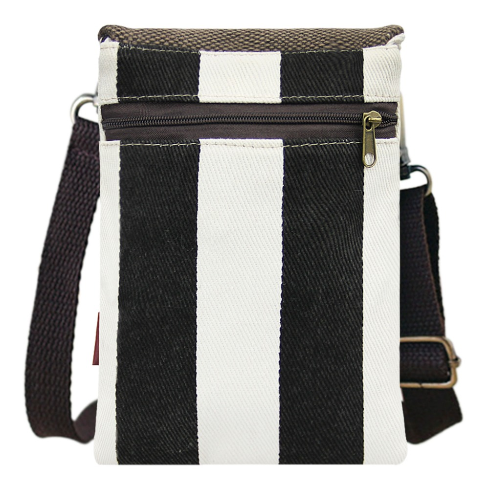 6ea0cedeb23802 Canvas Small Cute Crossbody Cellphone Pouch Purse Wallet Bag with Shoulder  Strap for Girls Women Teen-in Crossbody Bags from Luggage & Bags on ...