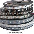 Newest LED 5V WS2813 1m/4m/5m 30/60 leds/m Smart Pixel Led Light Black/White PCB WS2813 IC IP30/IP67 Ambilight Led Strip Light