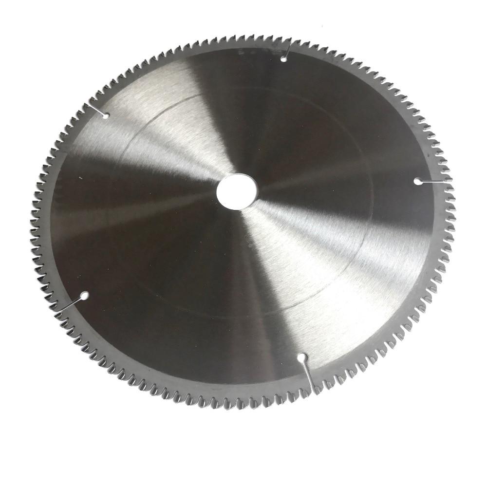 Ingyenes szállítás Professzionális minőségű 254 * 25,4 * 2,8 * 100T / 120T TCG fogak formájában TCT fűrészlap NF fémek alumínium réz vágókések