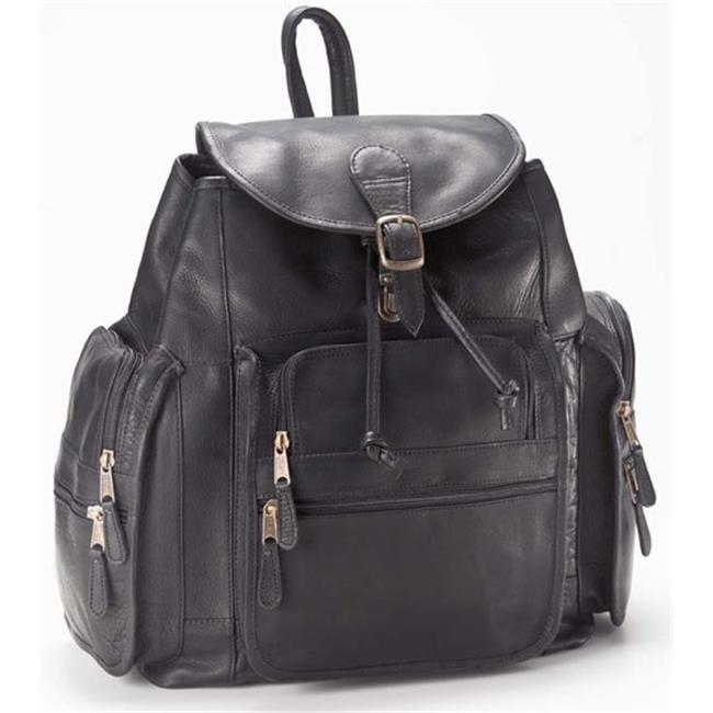Clava 2170 XL Backpack - Vachetta Black clava 709 hip to be square backpack vachetta cafe