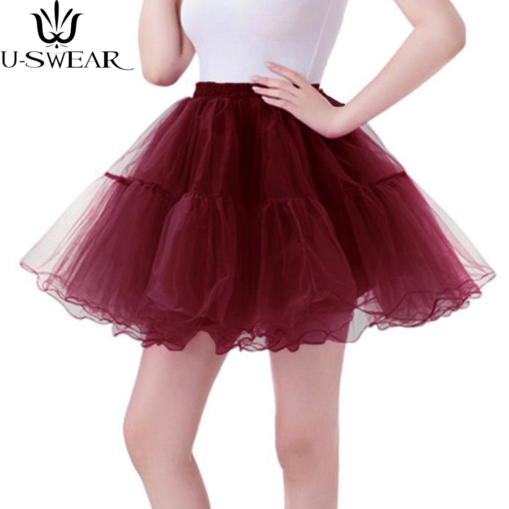 Women 3 Layers Tulle Skirt crimping Pleated Tutu Skirt Short Mesh Spring Summer Skirts Lolita Style faldas saia feminina
