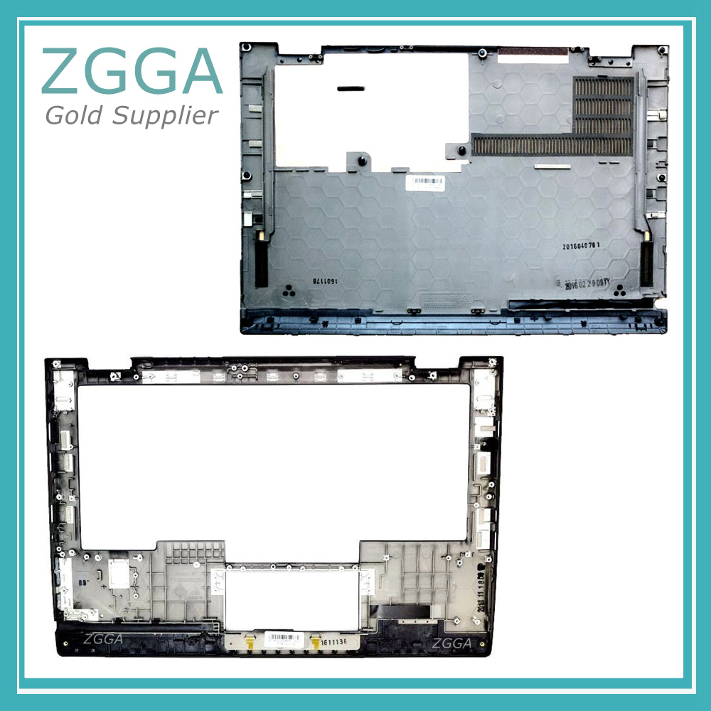 Genuine NEW Upper Case Base for Lenovo ThinkPad X1 Yoga 1 st 20FQ 20FR Laptop Palmrest Bottom Cover SCB0K40141 00JT837 00JT863 genuine new for lenovo thinkpad x1 helix 2nd 20cg 20ch ultrabook pro keyboard us layout backlit palmrest cover big enter