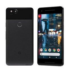 Zupełnie nowy oryginalny wersja ue 5 Cal Google Pixel 2 snapdragon do telefonu komórkowego 835 octa core 4G LTE 4GB 128GB smartfon z androidem
