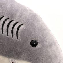 Plush Shark Pillow