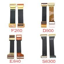 Для samsung S5230 D900 S3100 F260 S3550 E2330 L878 B520 M620 E840 S830 W595 E1272 основная плата разъём материнской платы Flex кабель