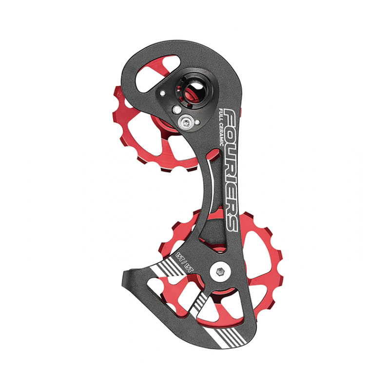 Fouriers CNC Road Bike Derailleur Cage with Pulley Up 15T Down 15T Drivetrain for RD 9000 / 9070 / 6800 / 6870 цена