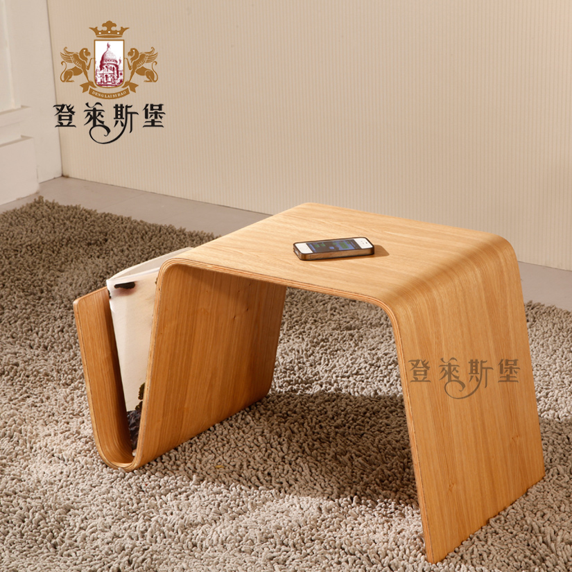 Small Portable Coffee Table Book Scando Small Curved Wood Coffee Table A  Few Simple Tatami Few Side Bending Angle A Few On Aliexpress.com | Alibaba  Group