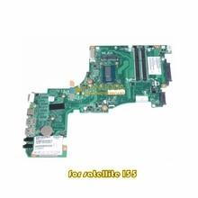 Marca nueva placa base para toshiba satellite l55 l55-a v000318210 placa madre del ordenador portátil sr16q i3-4010 cpu ddr3l funciona