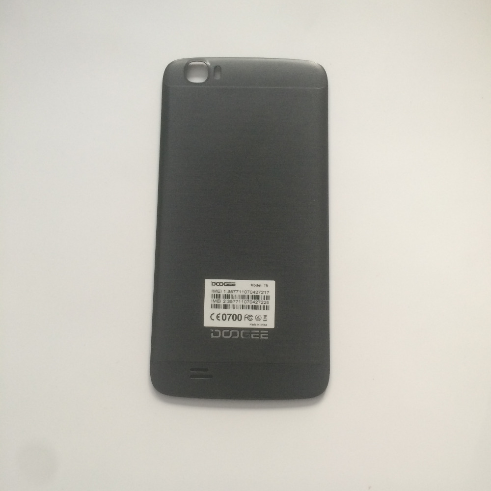 Used Battery Cover Back Shell For DOOGEE T6 MT6735 64Bit A53 Quad Core 5.5 Inch 1280x720 HD Free Shipping