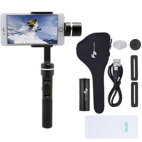 Feiyu FY SPG Live 3 Axis Brushless Handheld Gimbal Stabilizer for Gopro5 iPhone Smartphone z1 smooth ii 3 axis brushless handheld gimbal stabilizer for smartphone handheld within 6 5 screen