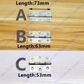 Length 53mm/63mm/73mm furniture hinge stainless steel hinge