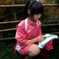 Frete Grátis Miyazaki Hayao A Viagem de Chihiro Cosplay Stage Props Roupas Chihiro Ogino