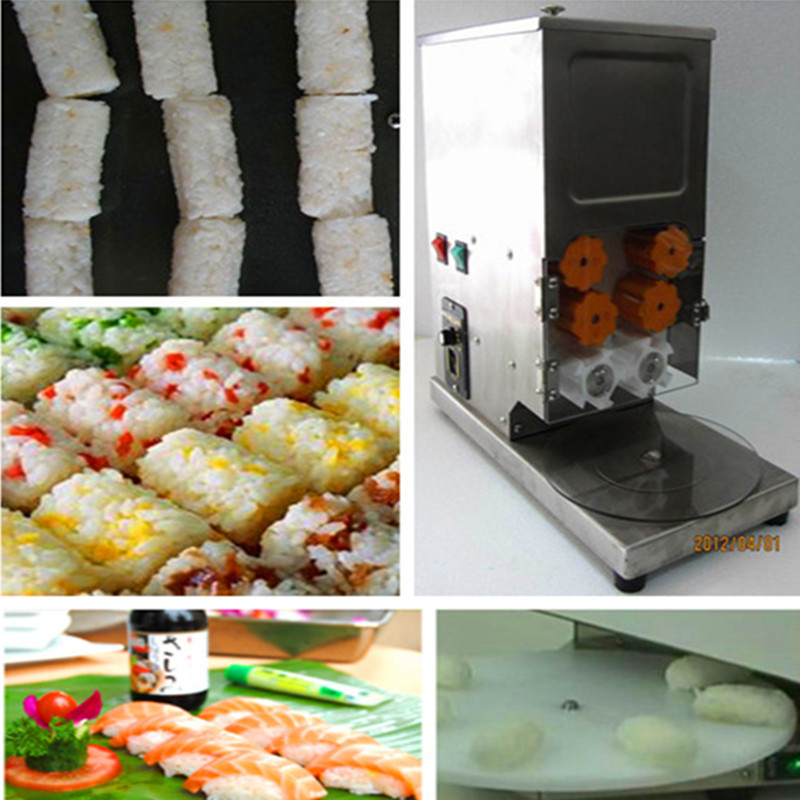 Sushi maker stainless steel full automatic sushi rice roll forming machine stainless steel automatic egg roll machine for sale