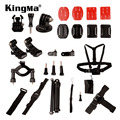 2016 new Multi-function 27pcs Camera Accessories Kit for Gopro Hero  4 / 3+ / 3 / 2 / 1 for Cycling Climbing Outdoor Sports 3434