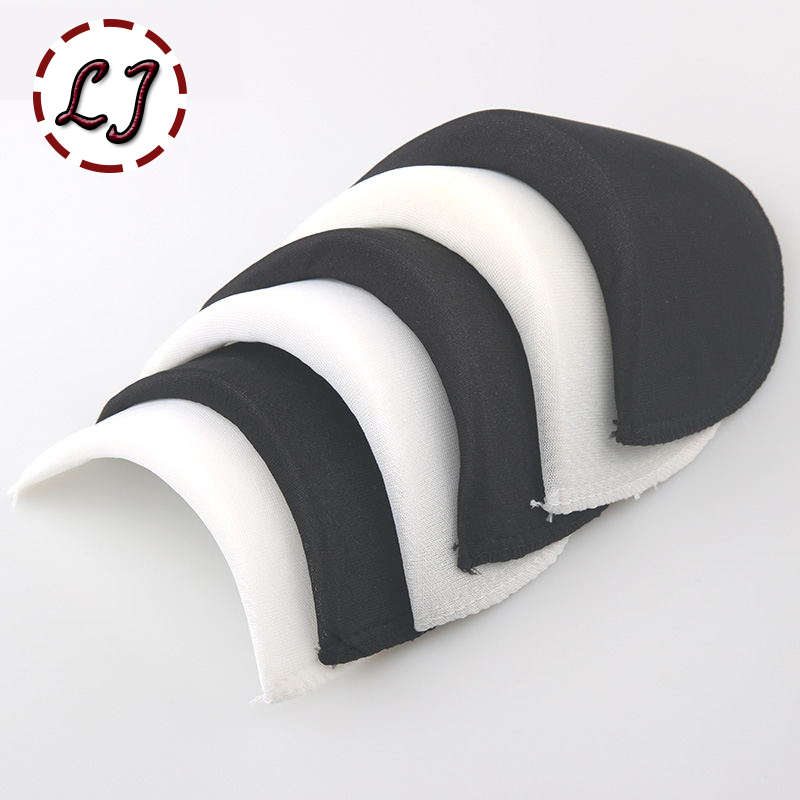 US $0 58 15% OFF|Wholesale 1 pair Soft Padded Shoulder Padding Encryption  Foam Shoulder Pads for Blazer T shirt Clothes Sewing Accessories-in  Shoulder