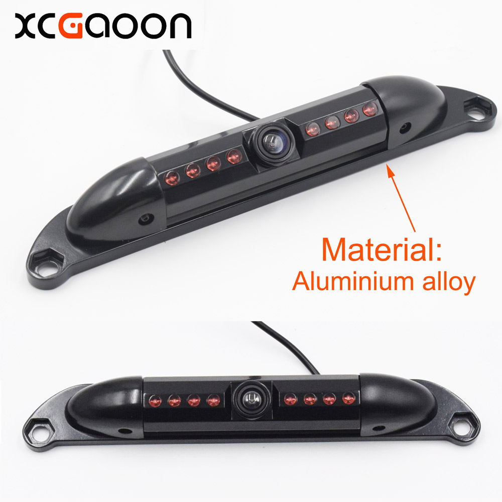 XCGaoon Classic CCD HD Car Rear View Camera Wide Angle Waterproof 8 IR lights Night Vision Camera Can Rotate 120 degrees wired hd ccd ip68 waterproof 170 wide angle ir night vision car rearview camera for vw new bora
