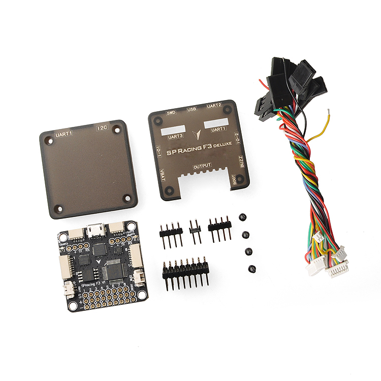 Pro SP Racing F3 Flight Controller Deluxe 10DOF with Barometer for DIY Mini 250 RC Quadcopter FPV Multicopter  F16776