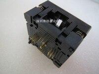 Opentop 790-42032-101T QFN32 MLF DFN 5*5 MM espaçamento 0.5mm assento Queimando IC Socket Test Adaptador de assento de testes banco de ensaio