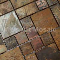 Copper mosaic tile kitchen backsplash decoration A6YB127