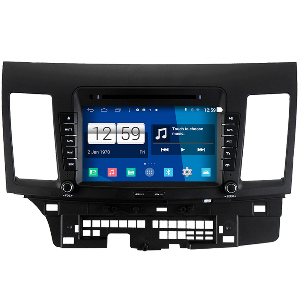 Winca S160 Android 4 4 System Car DVD GPS Head Unit Sat Nav for Mitsubishi Lancer