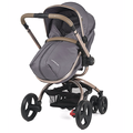 European neonatal high landscape cart can rotate 360 degrees stroller sit lie folding two-way suspension