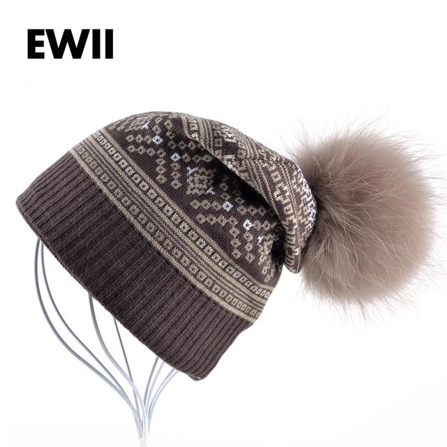 2017 Senhoras beanie chapéus para mulheres tampão do inverno da menina de malha de lã chapéu gorro mulheres skullies gorros tampas de lazer menina bonnet femme osso