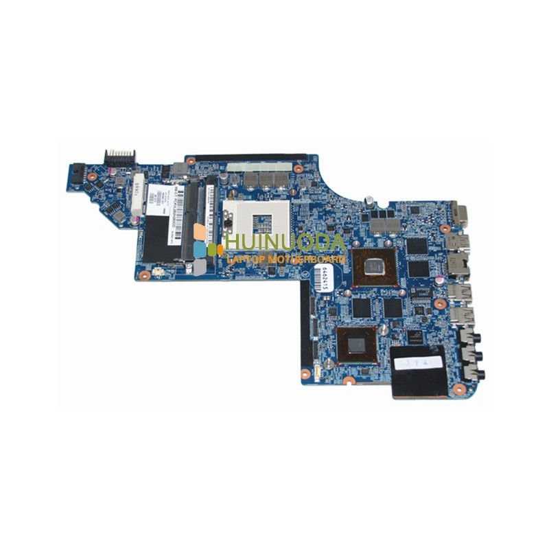 665991-001 Laptop motherboard For Hp Pavilion DV7 DV7-6000 HM65 DDR3 with ATI HD graphics free shipping 615686 001 laptop motherboard for hp dv7 motherboard ati graphics ddr3 ram full tested