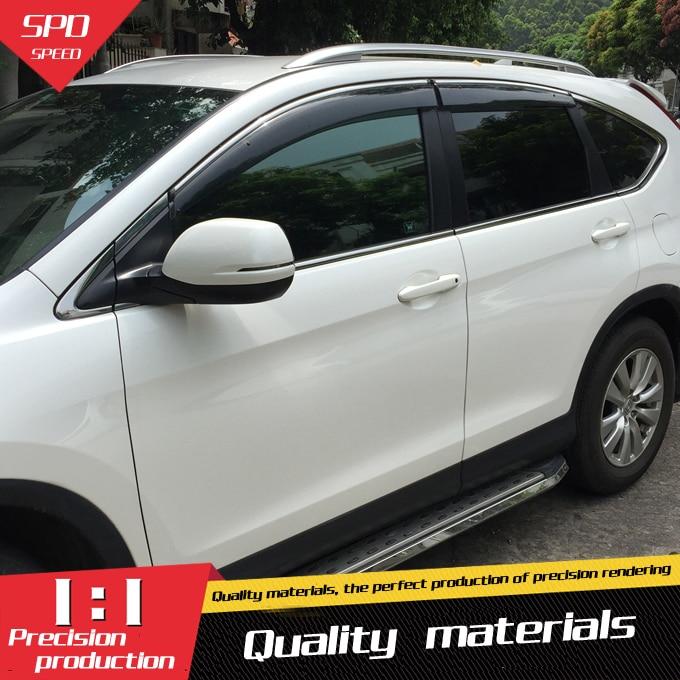 Window Visor Vent Shades Sun Rain Guard For 2017 2018 Honda CRV CR-V