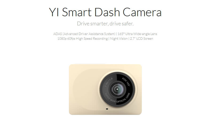 INTERNATIONAL EDITION ORIGINAL XIAOYI YI SMART CAR DVR DASH CAM CAR DETECTOR DASH CAMERA 202920 24