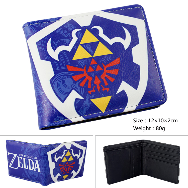 The Legend of Zelda Wallet Ocarina of Time Leather PU purse A style zelda ocarina of time game skin for nintendo 3ds xl console