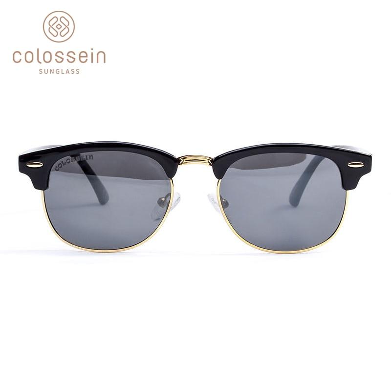 COLOSSEIN Gafas de sol redondas polarizadas para hombre Moda clásica - Accesorios para la ropa - foto 3