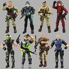 Lanard Elite Force 1:18 Military Action Figure Doll Statue 3.75 Inch Japanese ninja warrior Navy Seals