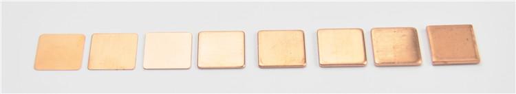 10 Pieces Pure Copper Heatsink Shim 5