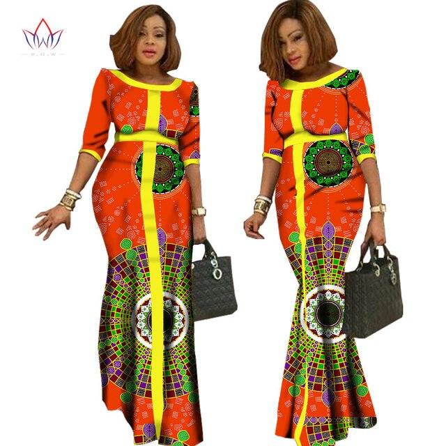 2018 afrikaanse kleding voor vrouwen vintage maxi robe africaine