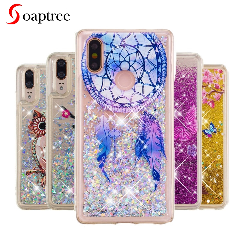 Fashion Style Glitter Case For Motorola Moto Z3 Play Bling Dynamic Liquid Quicksand Back Cover Motoz3 Play Z3play Fitted Phone Cases Funda Modern Techniques Cellphones & Telecommunications