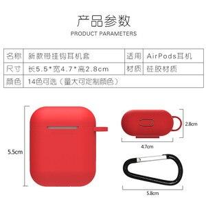 Image 3 - Yeni Karikatür kablosuz bluetooth kulaklık kutusu Için Apple AirPods Silikon Şarj Kulaklık Kılıfları Airpods Için Koruyucu Kapak