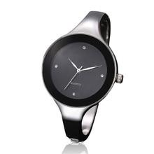 Women Watches Men relogio masculino reloj  High Quality  Luxury Women Stainless-steel Military Analog Quartz Bracelet Watches 5*