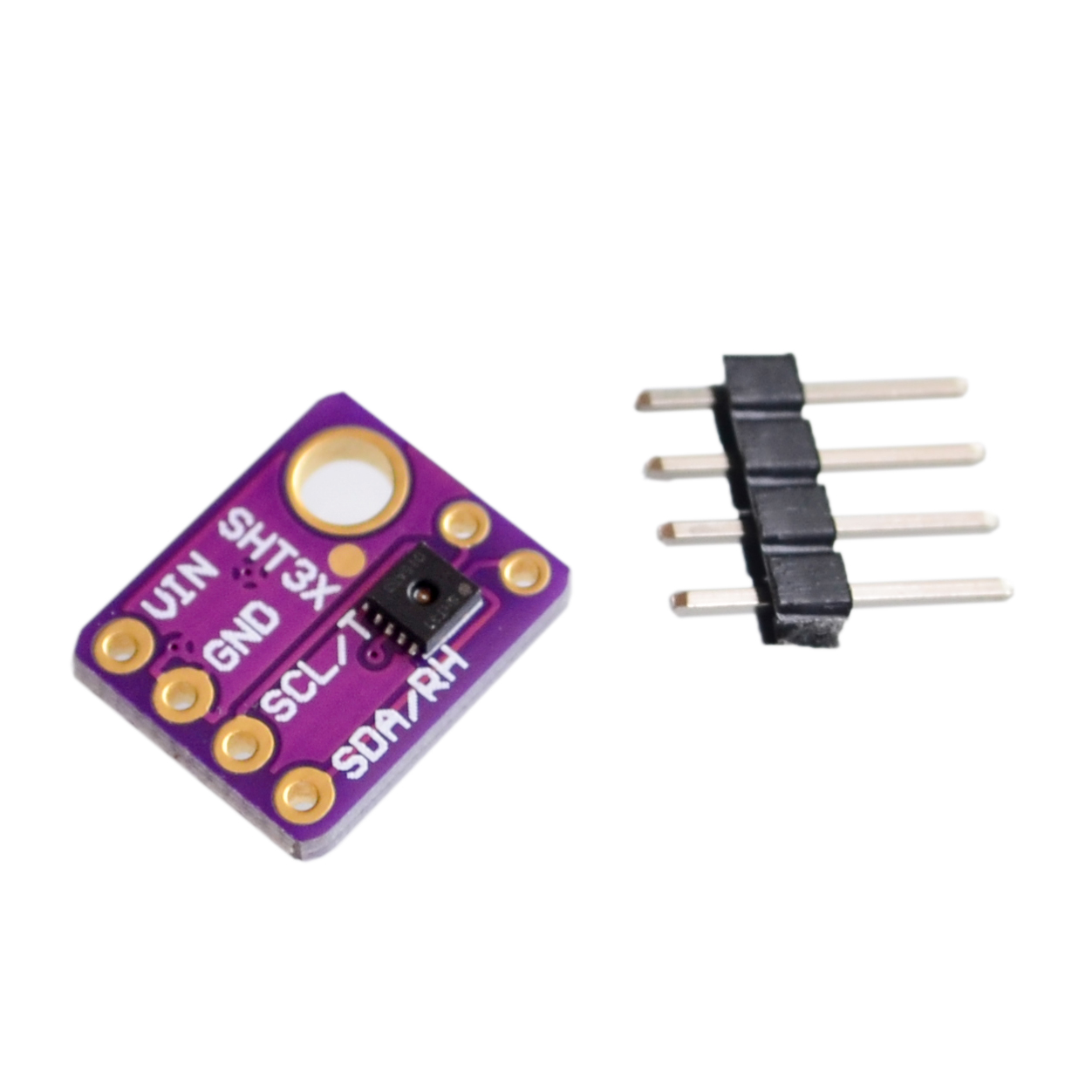 Sht31 Temperature D Humidity Sensor Module Breakout Weather Electronic Components Integrated Circuitsicsicchina Mainland Original I2c Interface Sht30 Digital Output Accuracy
