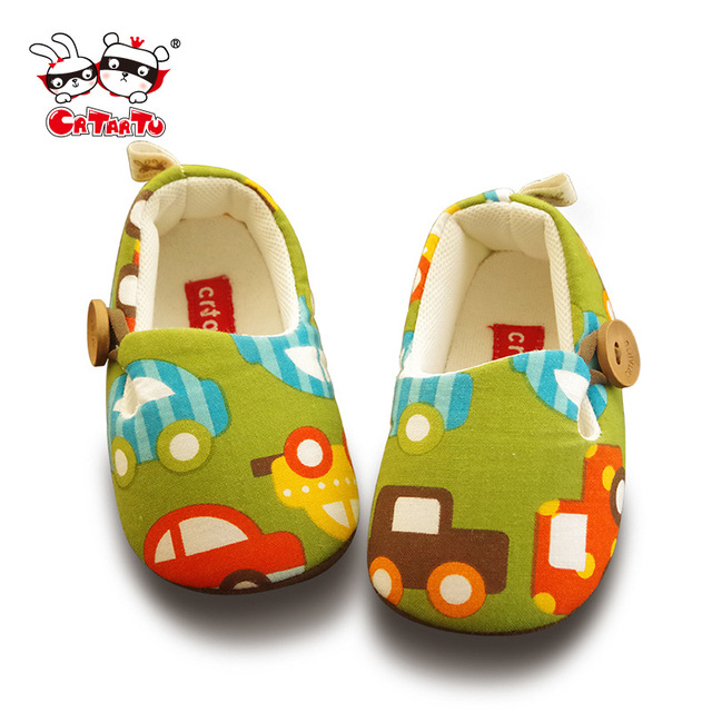 Carter rabbit new children's shoes Baby shoes non-skid sheepskin soft bottom shoes home baby Autumn a undertakes