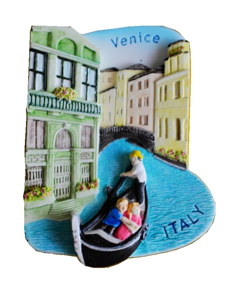 Venecija, Italija Aromaterapija Hladni porculan Ručno oslikani 3D magneti za hladnjak Putopis Suveniri Hladnjak Magnetska naljepnica