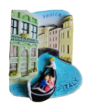 Venice, Italy Aromatherapy Cold Porcelain Hand-Painted 3D Fridge Magnets Travel Souvenirs Refrigerator Magnetic Sticker