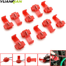 10pcs Wire terminals quick wiring connector cable clamp for AWG 22-18 Wire Connector For Suzuki GSXR GSX-R 600 750 1000 K1 K2 K3 цена