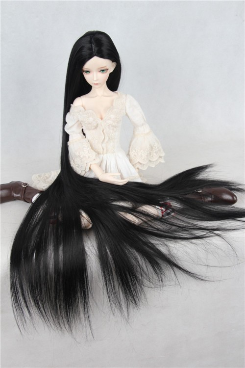 BJD SD doll wig Long straight hair uncle antiquity 1 3 thirds unisex models