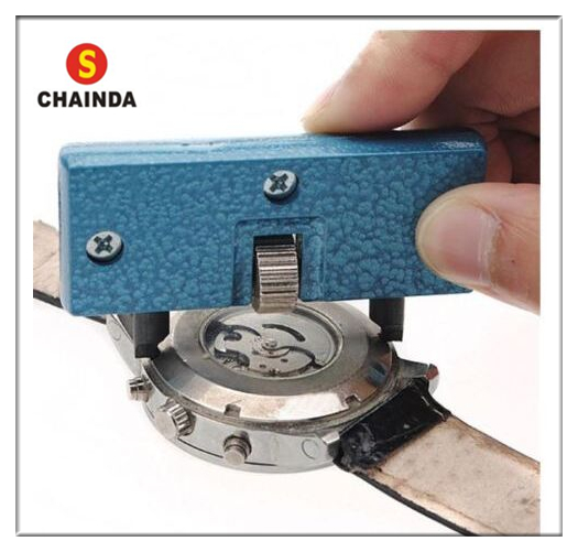 цена на Free Shipping 1pc Screw On Style Case Back Watch Opener Pocket Wrench Tool Square/Round Pins for Watch Repair