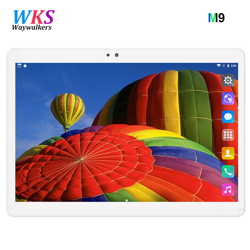Newest 10.1 inch tablet pc Android 7.0 RAM 4GB ROM 32GB 64GB Dual SIM Bluetooth GPS 1280*800 IPS tablets pcs free shipping cige a6510 10 1 inch android 6 0 tablet pc octa core 4gb ram 32gb 64gb rom gps 1280 800 ips 3g tablets 10 phone call dual sim